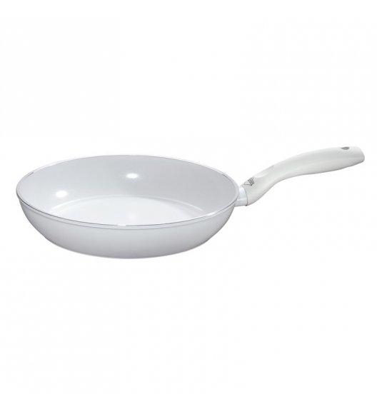 KUCHENPROFI Patelnia z powłoką ceramiczną 28 cm / biała / FreeForm