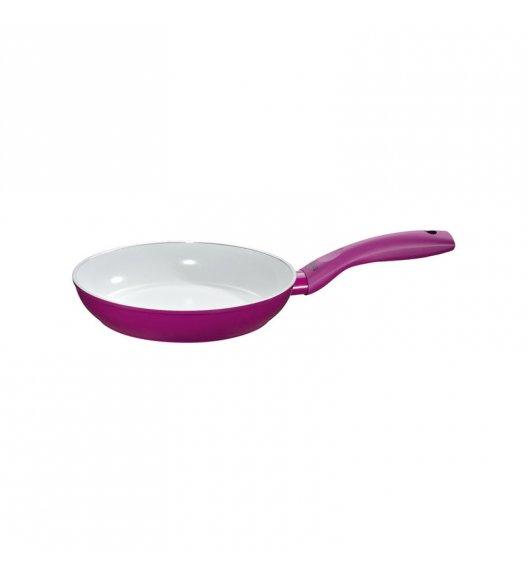 KUCHENPROFI Patelnia z powłoką ceramiczną 20 cm / fioletowa / FreeForm