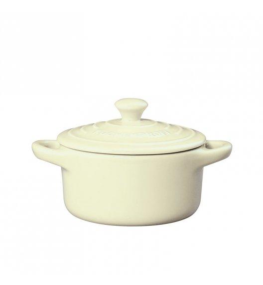 KUCHENPROFI Mini brytfanna ceramiczna z pokrywką PROVENCE 0,2 l, kremowa / FreeForm