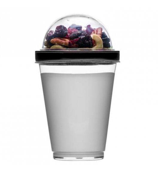 SAGAFORM Kubek na jogurt i dodatki FRESH 0,3 l / czarny / FreeForm