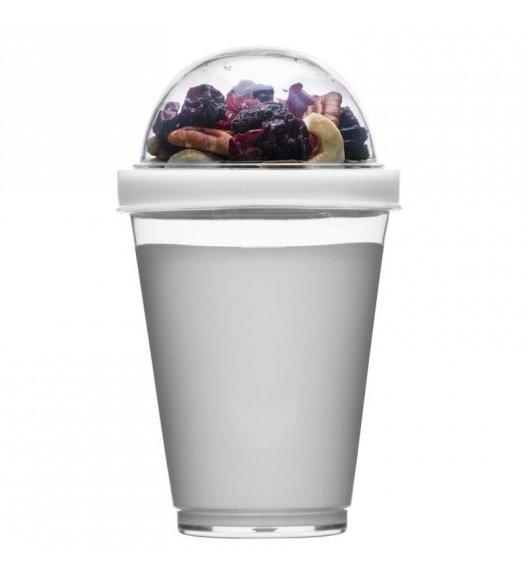 SAGAFORM Kubek na jogurt i dodatki FRESH 0,3 l / biały / FreeForm