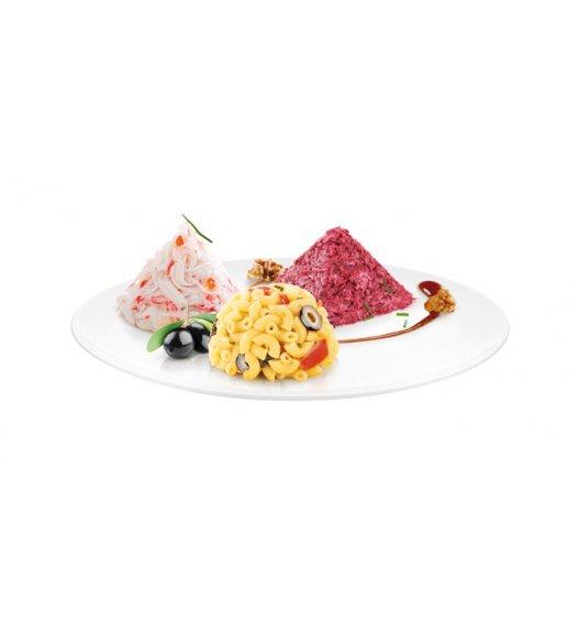 WYPRZEDAŻ! TESCOMA 3D Foremki do formowania potraw PRESTO FoodStyle, 3 wzory ZOBACZ FILM