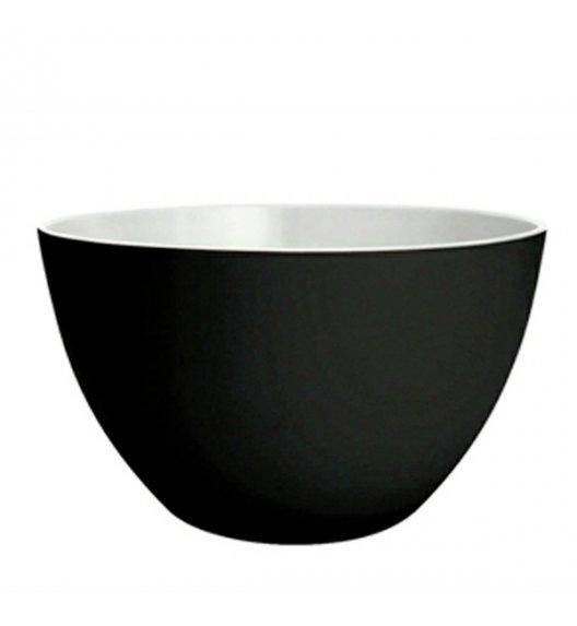 WYPRZEDAŻ! ZAK! DESIGNS Miska dwukolorowa, biało-czarna, 18 cm /Btrzy