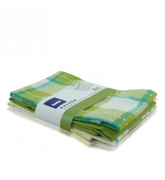 WYPRZEDAŻ! KELA Zestaw 3 ściereczek bawełnianych PASADO 65 x 45 cm, zielone / FreeForm