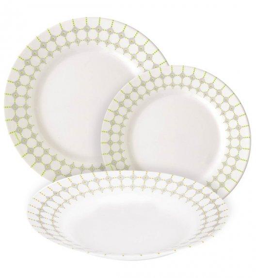 LUMINARC EDWIGE Komplet obiadowy 18 el dla 6 os  / Wyprodukowane we Francji / Szkło hartowane / 06362