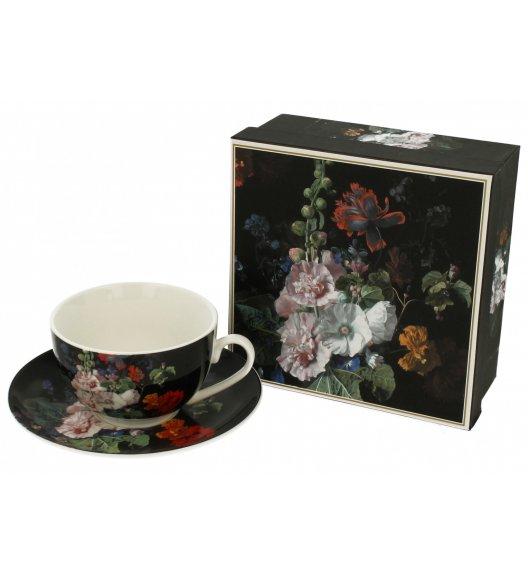 DUO MALWA Filiżanka ze spodkiem 250 ml / porcelana