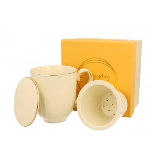 DUO NINA Kubek z zaparzaczem 400 ml / Porcelana