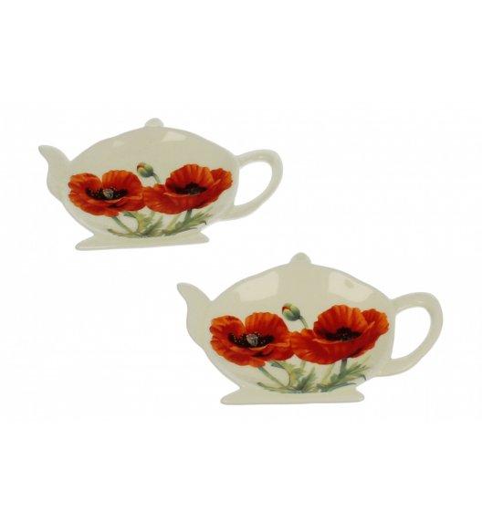DUO DOLOMIT Komplet 4 podkładek na herbatę MAKI / Porcelana
