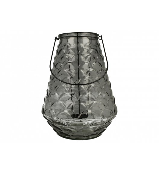 DUO LIVERPOOL GRAY Lampion 31 cm / Szkło