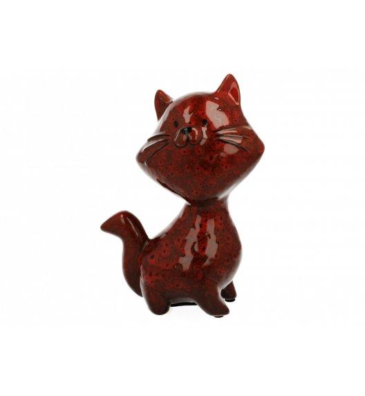 DUO Skarbonka KOT 17,5 cm / Ceramika wysokiej jakości