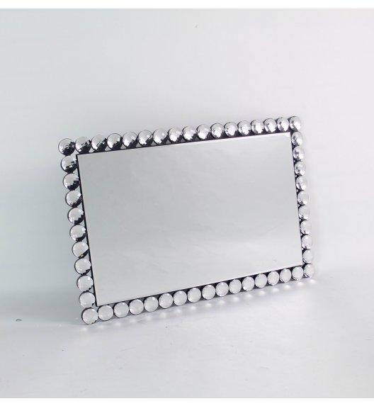 DUO DIAMENT Lustro szklane 40*60 cm / Przezroczysty