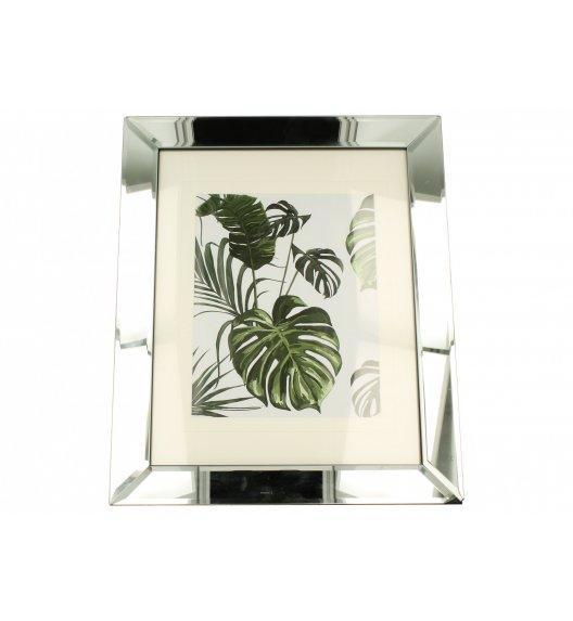 DUO SILVER FRAME Obraz szklany 41 cm / Srebro