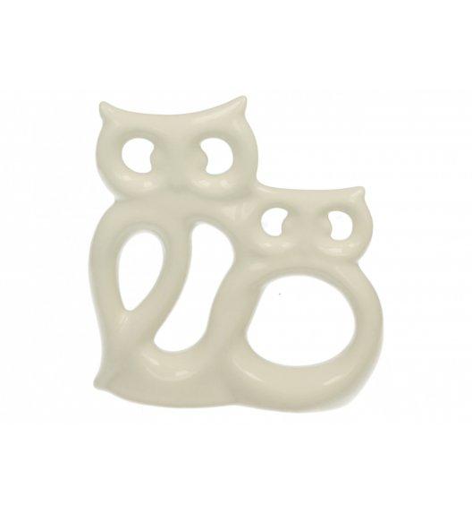 DUO Figurka SOWY AŻUROWE 17 cm / Porcelana