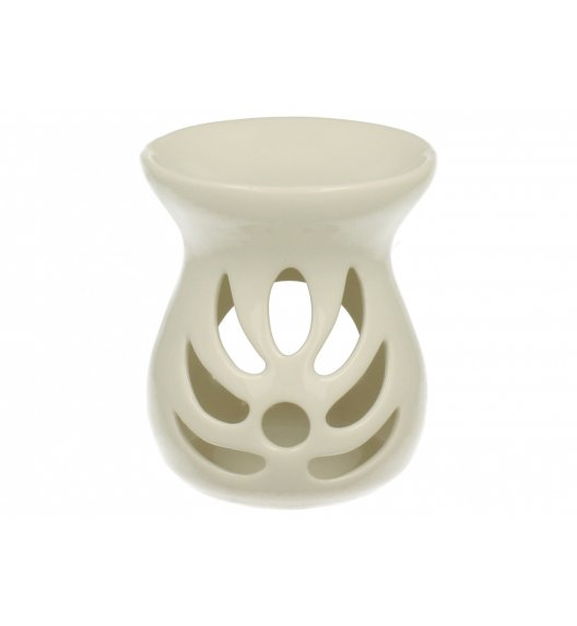 DUO Podgrzewacz ażurowy do olejków 12,5 cm / Porcelana