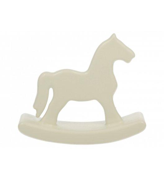 DUO Figurka KONIK NA BIEGUNACH 16 cm / Porcelana