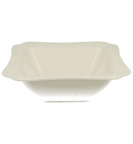 DUO ING Salaterka 22,5 cm / Porcelana wysokiej jakości