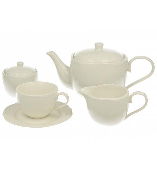 DUO LUXURY Komplet kawowy 15 el / 6 osób / porcelana wysokiej jakości
