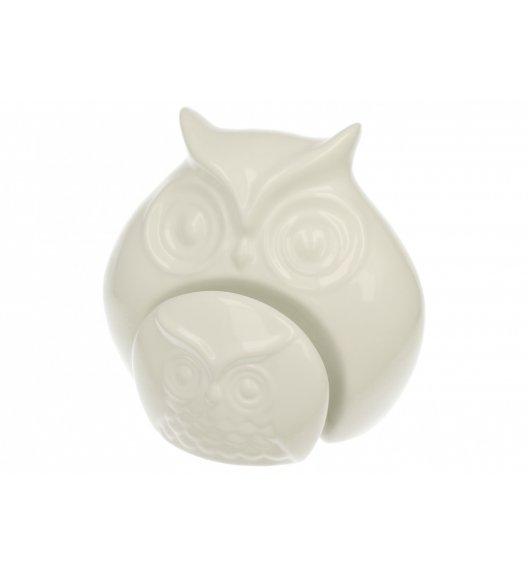 DUO Figurka SOWA Z DZIECKIEM / 16 cm / Porcelana