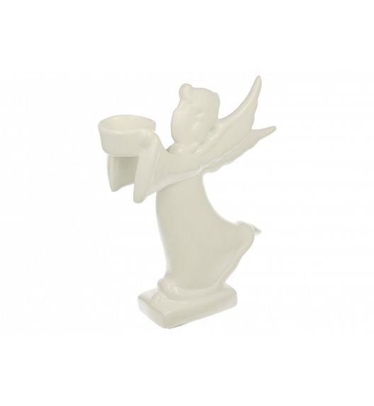 DUO Figurka ANIOŁ W BIEGU 1 / 27 cm / Porcelana