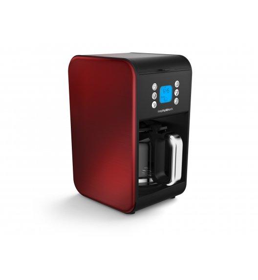MORPHY RICHARDS ACCENTS Ekspres przelewowy do kawy czerwony / Technologia Pour Oven / 162009