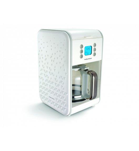 MORPHY RICHARDS PRISM Ekspres przelewowy do kawy biały / Technologia Pour Oven / BPA FREE / 163001