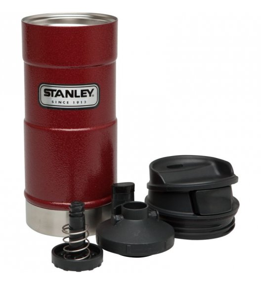 STANLEY Stalowy kubek termiczny CLASSIC czerwony 0,35 l / FreeForm