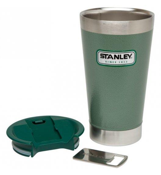 STANLEY Termiczny kubek z otwieraczem CLASSIC zielony 0,47 l / FreeForm