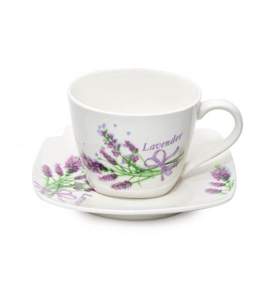 BELLA FIORE Serwis kawowy 12 elementów dla 6 osób / Ceramika / Italian Design / MH-2959/12 / Tragar