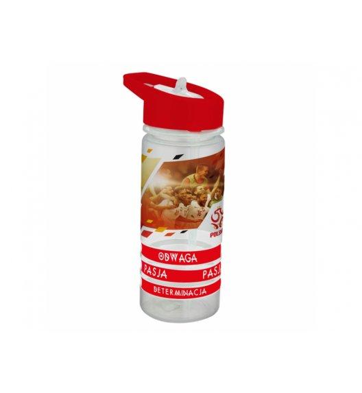AMBITION PZPN Bidon 470 ml + 3 opaski DRUŻYNA / Polska Mundial / tworzywo sztuczne 82121