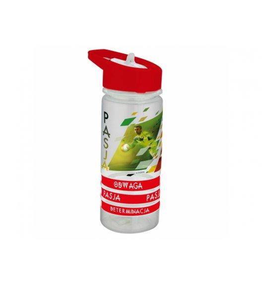 AMBITION PZPN Bidon 470 ml + 3 opaski PASJA / Polska Mundial / tworzywo sztuczne 82120