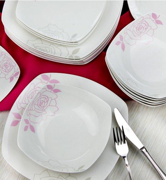 WYPRZEDAŻ! FIORE Serwis obiadowy 18 elementów dla 6 osób / Ceramika / Italian Design / MH-1031/18