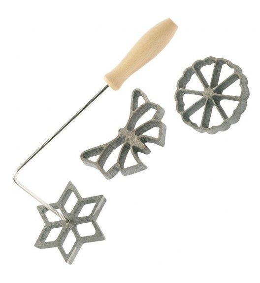 WESTMARK Metalowe foremki do wafli / 3 el / Stal