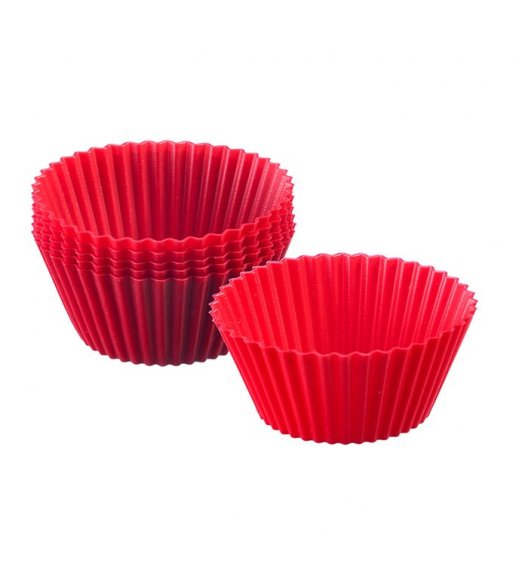 WESTMARK Papilotki na ciastka ø 7 cm, 6 szt. / czerwone