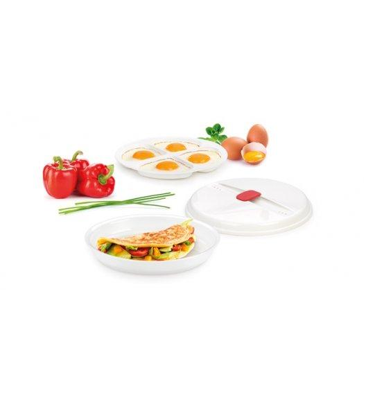 WYPRZEDAŻ! TESCOMA PURITY MicroWave Miska do przygotowywania omletów i sadzonych jajek w kuchence mikrofalowej VIDEO
