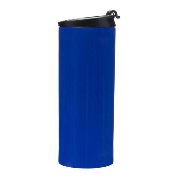 SAGAFORM CAFE Kubek samochodowy stalowy 0,35 l niebieski / FreeForm