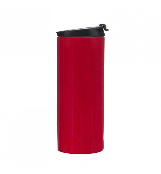 SAGAFORM CAFE Kubek samochodowy stalowy 0,35 l czerwony / FreeForm