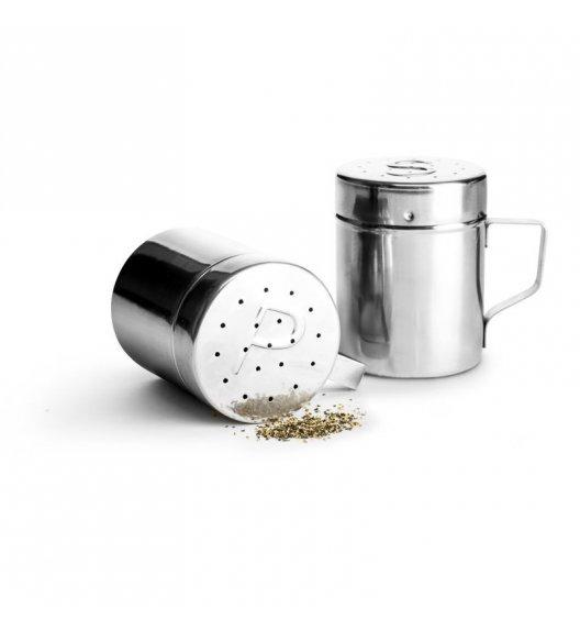 SAGAFORM BBQ Solniczka i pieprzniczka ze stali nierdzewnej ⌀ 7 x 9,5 cm / FreeForm