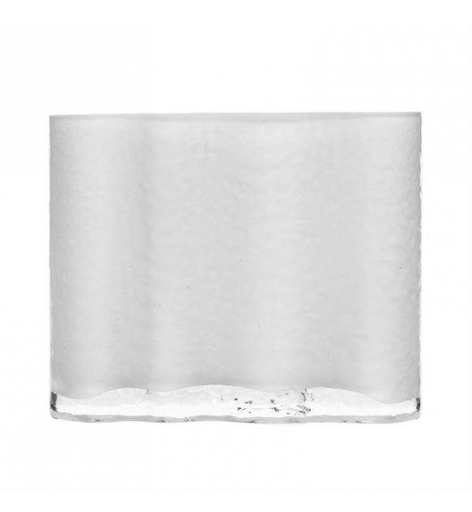 SAGAFORM INTERIOR Wazon szklany SEA 16 cm mleczne szkło / FreeForm