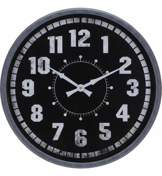 WYPRZEDAŻ! HOME & STYLING COLLECTION Zegar ścienny ø 51 cm / Czytelna tarcza / Koopman
