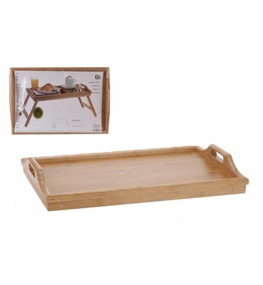 EH EXCELLENT HOUSWERE Stolik śniadaniowy 50 x 30 cm drewno bambusowe / Koopman