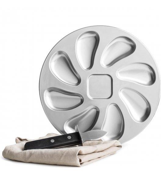 SAGAFORM Zestaw do otwierania i serwowania ostryg ⌀ 25 cm / FreeForm