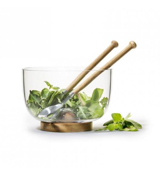 SAGAFORM Zestaw do serwowania sałaty ⌀ 22 cm NATURE / FreeForm