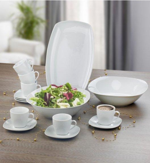 ARZBERG ANGELINA Niemiecki komplet serwingowy / dodatki do serwisów 15 el / porcelana