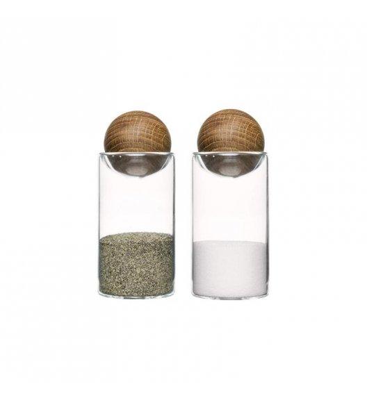 SAGAFORM Szklane buteleczki na przyprawy 11,5 cm NATURE 2 szt / FreeForm