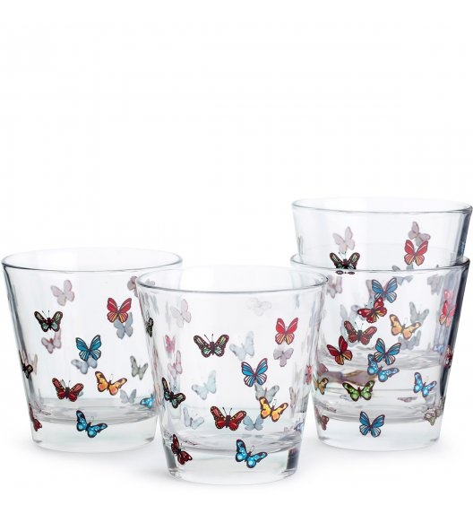 SAGAFORM Zestaw 4 szklanek 0,2 l butterfly KITCHEN / FreeForm