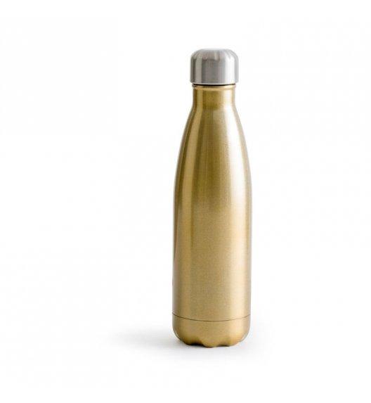SAGAFORM Termiczna butelka stalowa OUTDOOR złota 0,5 l / FreeForm