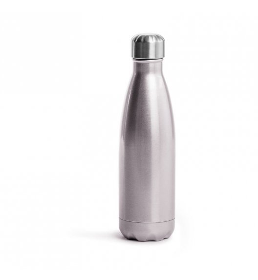 SAGAFORM Termiczna butelka stalowa OUTDOOR różowa 0,5 l / FreeForm