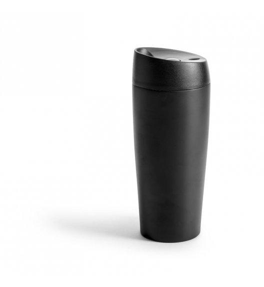 SAGAFORM Termiczny kubek samochodowy stalowy 0,4 l czarny / FreeForm