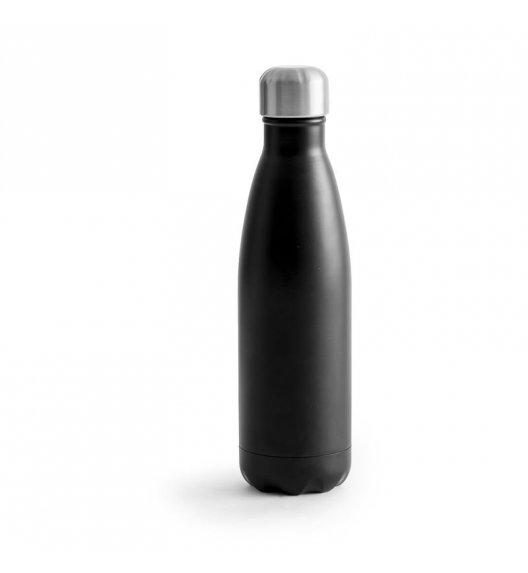 SAGAFORM Termiczna butelka stalowa OUTDOOR czarna 0,75 l / FreeForm