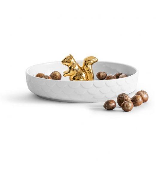 SAGAFORM Talerz na słodycze z wiewiórką ⌀ 19 cm l WINTER / FreeForm